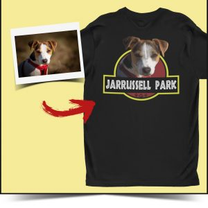 Jarrussel park custom dog tee