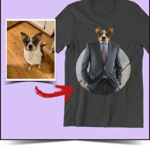 custom dog to business suit